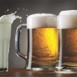 Beber cerveja faz mais bem à saúde do que beber leite, diz estudo