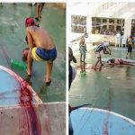 Baiano do PCC morre em briga de facções; presidiário exibe cabeça de vítima