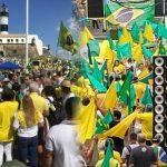 Salvador e Belém dão show de patriotismo nas manifestações de hoje