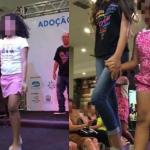 Passarela da ADOÇÃO em shopping de luxo expõe crianças a traumas irreparáveis