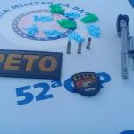Dois são presos na Lagoa dos Patos com arma e drogas