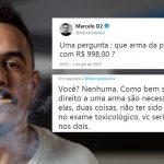 Marcelo D2 tenta 'lacrar' em cima de Bolsonaro e leva resposta matadora