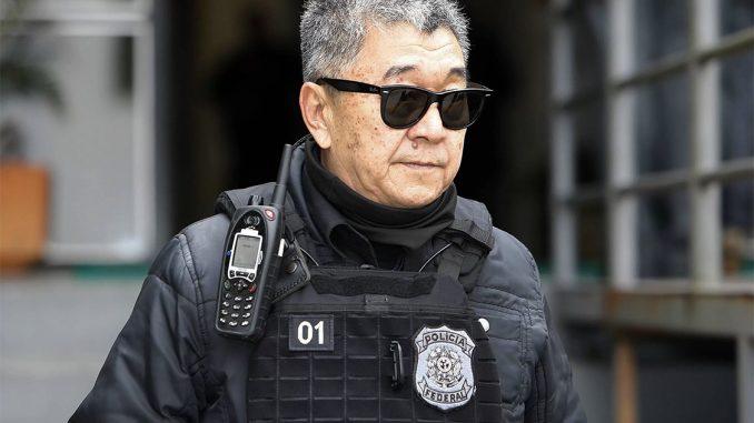 Japonês da Federal tenta visitar Lula