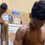 Vídeo que mostre menino morto após prender respiração é fake