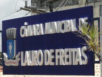 número de vereadores em Lauro de Freitas
