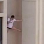 Veja o vídeo: Homem morre após cair de prédio fugindo da casa de amante