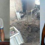 Filho mata e enterra mãe dentro de geladeira no quintal de casa
