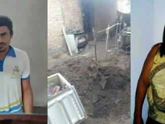 Filho mata e enterra mãe dentro de geladeira