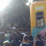 Dois trens batem de frente na Estação do Lobato, no Subúrbio de Salvador