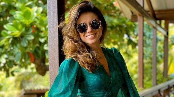 Vestido de Paula Fernandes