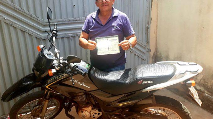 Motociclista é multado