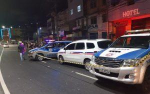 Taxista é morto na Barros Reis