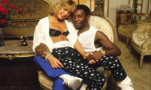 Xuxa sobre namoro com Pelé